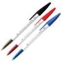 ปากกาลูกลื่นเรโน 045  0.8 มม. (สีน้ำเงิน , สีแดง , สีดำ)
