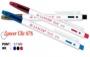 ปากกาลูกลื่น Lancer Click 878 0.7 มม. (สีน้ำเงิน,สีแดง,สีดำ)
