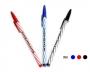 ปากกาลูกลื่น Lancer Spiral 825   0.5 มม. (สีน้ำเงิน,สีแดง,สีดำ)