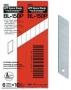 ใบมีดคัตเตอร์ NT BL-150  ( 5 ใบ/แพ็ค )