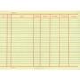 บัญชีสต็อกการ์ด หนา 110 แกรม 100 แผ่น/แพ็ค ขนาด 6*8 นิ้ว